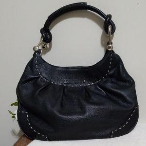BCGGMaxazria stitched leather shoulder bag